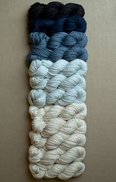 Want to make Warren and Megan's baby blanket with these colors