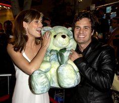 Mark Ruffalo e Jennifer Garner na Premiere de  'De Repente 30' - 2004 - (Photo by M. Caulfield/WireImage)