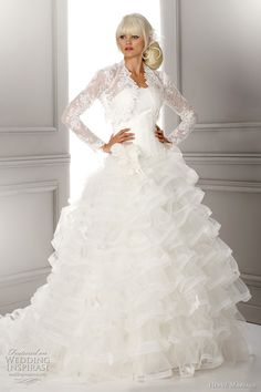 My style wedding gown but will not do it again