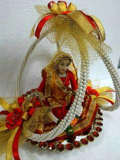 Indian bride DOll by sai kalyan creation.......