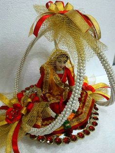 Indian bride DOll by sai kalyan creation.......