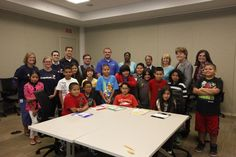 Capital One hosts Math Corp at Plano campus with CISDR