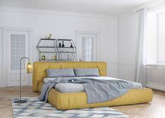 Łóżko SANTIO ROSANERO - foto 1 Sofa, Bed, Furniture, Home Decor, Bedroom, Settee, Decoration Home, Stream Bed, Room Decor