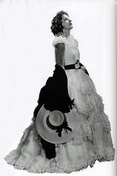 """Greta Garbo in costume for """"Camille"""", 1936 by thefoxling, via Flickr"""
