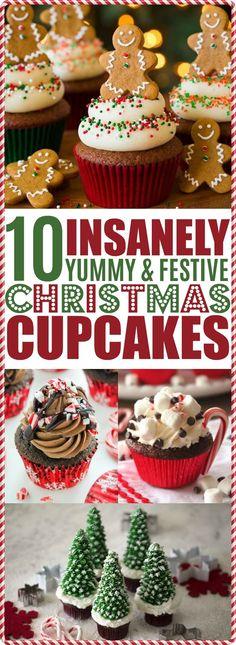 Christmas Cupcakes,Christmas Cupcake Ideas, Christmas Cupcakes Decoration, Holiday Desserts