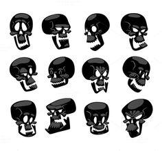 Buy Skull Face Illustration Isolated on White by Vectorssstocker on GraphicRiver. Skull bones human face illustration isolated on white background. Skull bones s. Cartoon Character Tattoos, Cartoon Characters, Organizing Hacks, Cartoon Drawings, Skull Drawings, Comic Drawing, Drawing Sketches, Architecture Art Design, Skull Face