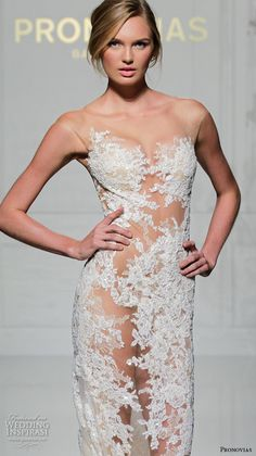 d85b50c9a69 Pronovias 2016 Wedding Dresses — New York Bridal Runway Show
