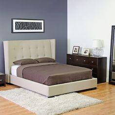 Really want this upholstered bed frame! Apartment Furniture, Master Bedroom Redo, Bedroom Inspirations, Home Bedroom, Bed, Furniture, Upholstered Bed Frame, Home Decor, Platform Bed