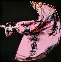 'Martha Graham: Letter to the World (The Kick)' 1986 - Andy Warhol