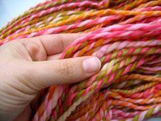Marakesh bulky handspun yarn
