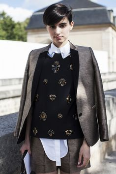 calivintage: street style by STYLE/CLICKER. Great look!