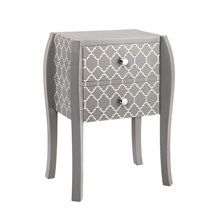 OLLIIX Quatrefoil Bombe End Table | Madison Park Home Wholesale