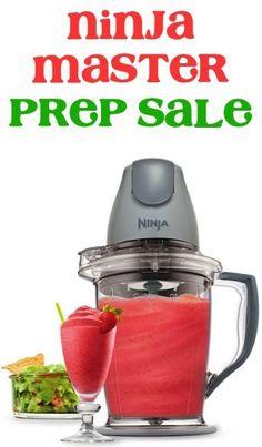 Ninja Master Prep Sale: $31.20!