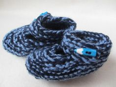 Items similar to Baby Booties shades of blue - light blue pen shaped button button months) on Etsy Baby Booties, Shades Of Blue, Knits, Light Blue, Booty, Knitting, Trending Outfits, Unique Jewelry, Handmade Gifts