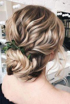 41 Relaxing Bridal Wedding Hairstyles Ideas That Looks Cool Long Hair Wedding Updos, Prom Hair Updo, Bridal Hair, Updo Hairstyle, Grecian Hairstyles, Bride Hairstyles, Low Bun Braid, Hair Color Balayage, Hair Colour