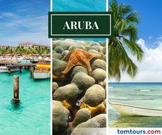 Viaje a la Isla Feliz, viaje a #Aruba con las mejores tarifas en aéreos del mercado o con nuestros paquetes completamente personalizados. No se pierda la oportunidad de vivir este destino encantador! Para más información comuníquese al (212) 947-3131 #Vuelos #Paquetes #SomosLatinoamérica #TomTours