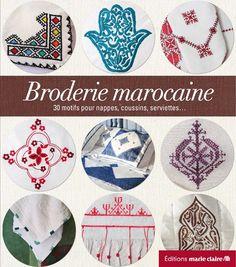 Livre Broderie Marocaine