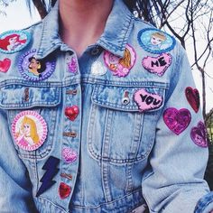 Imagem de disney, jeans, and jacket