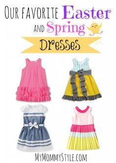 30 of our favorite #Easter Dresses for toddler girls - My Mommy Style