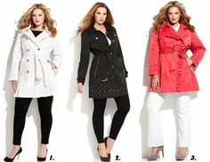 Shapely Chic Sheri - Curvy Fashion and Style Blog: Currently Craving: Spring Trench Coats