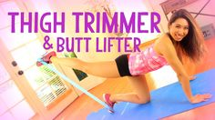 My butt and thighs got so sore from this workout! The mini bands added so much intensity that I felt the burn right away and for days after. You can get them...
