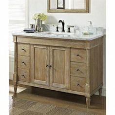 Love the style of Restoration Hardware bathroom vanities? From sleek and modern stainless steel to rustic and weathered oak, Restoration Hardware...