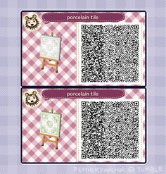 """featheryanchor: """" this game is really fun to design in, very simple. i originally intended this as a private tile for my entire town, but i'll release just this one. """" Qr Codes, Happy Home Designer, Animal Crossing Qr, Code Wallpaper, Post Animal, Acnl Paths, Animal Games, New Leaf, Pathways"""