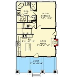 Cottage With Bunk Room - 9748AL | 1st Floor Master Suite, CAD Available, Cottage, Mountain, PDF, Vacation | Architectural Designs