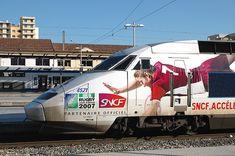 le TGV du RUGBY en l'honneur de la coupe du Monde de Rugby 2007 - Réalisation #Megamark