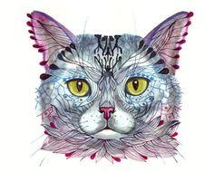 Watercolor by Ola Liola
