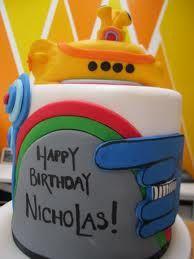 yellow submarine birthday party - Google Search