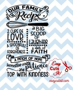 Our Family Recipe Compatible with Cricut Explore & Silhouette Cameo Includes Small Business Commercial License ~ Please see product description below for details Source by Look clothes Family Recipe Book, Recipe Books, Planning Budget, Menu Planning, 4th Of July Nails, Recipe Binders, Diy Cutting Board, Family Meals, Family Recipes