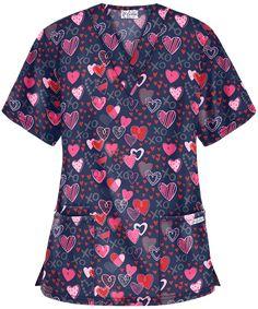 Patrick's Day, Easter & Holiday Scrubs at Uniform Advantage Cute Nursing Scrubs, Buy Scrubs, Scrub Jackets, Cotton Polyester Fabric, Scrub Pants, Scrub Tops, V Neck Tops, Men Casual, Stylish