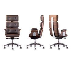 Altek Italia // Armadillo 1 Swivel Armchair // High Back Italia Design, Best Office Chair, Luxury Office, Ergonomic Office Chair, Cool Chairs, Lounge Chairs, Swivel Armchair, Home Office Decor, Office Interiors