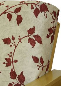 Futon Cover In Cayenne Fl Fabric Is Simply Gorgeous Features The All Time Favorite