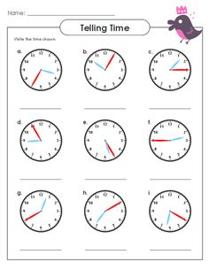 Practice telling digital time from an analog clock with this free worksheet! #tellingtime #tellingtimepractice #freeworksheets #printableclocks
