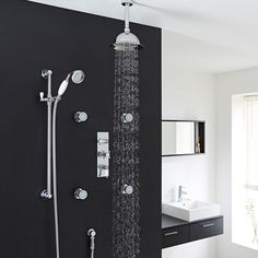 This shower kit delivers a sensational showering experience