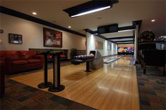Bowling Alley Bernie Bloemer Custom Homes Nashville, TN Home Builders, Bowling, Custom Homes, Nashville, Home Buying
