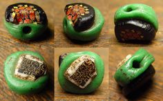 Check out http://tasart.com!  Collecting, researching, buying and selling of unusual and rare beads, specializing in Mauritanian Powder Glass Kiffa Beads, Ancient, tribal and ethnic collectible bead and bead related items