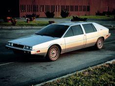 Les concepts ItalDesign : Maserati Medici II (1976)