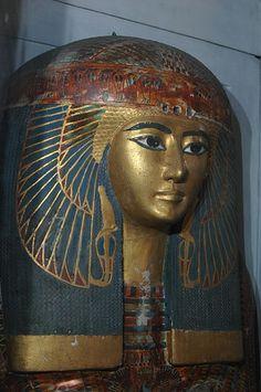 Outer Coffin Maatkare (The Royal Cache TT320, Deir el-Bahari) Egyptian Museum Cairo, CG 61028.