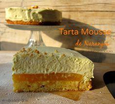 Tarta Mousse de Narajas Valencianas Sin gluten Sin Lactosa | Milicocinillas