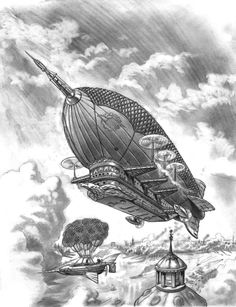 Steampunk Airship by ~bronxboy53 on deviantART