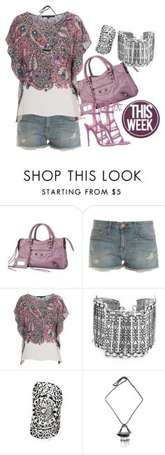 BOHEMIAN by bianca-2904 on Polyvore featuring moda, French Connection, Current/Elliott and Jimmy Choo