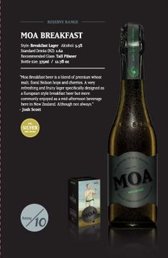 Moa Breakfast Beer