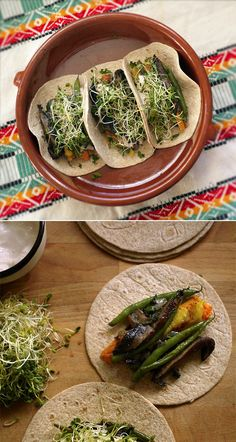 Healthy Hearty Veggie Tacos! Feel full with this vegetarian meal | honest fare