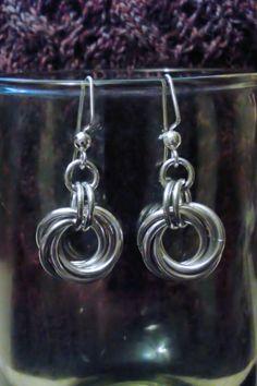 Moebius Drop Earrings Drop Earrings, Jewelry, Jewlery, Jewels, Jewerly, Jewelery, Chandelier Earrings, Accessories