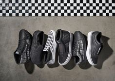 Here's Your First Look at Karl Lagerfeld's Collaboration with Vans - HarpersBAZAAR.com