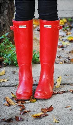 red wellies...love