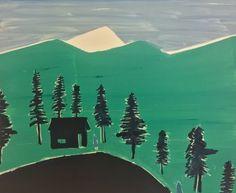 TOM HAMMICK. Cloudy Mountain